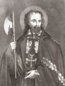 """S. Josaphat Archiepiscopus Polocensic martyr [...]"" Luigiego Banzo."