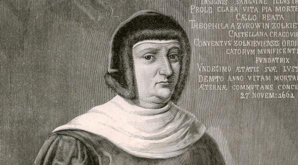 """Teofila Sobieska kasztelanowa krakowska, matka króla."""