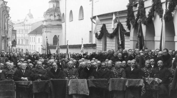 Obchody rocznicy wyzwolenia Wilna w Wilnie 21.04.1929 r.